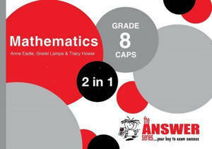 Picture of The Answer Series Mathematics Grade 8 2-in-1