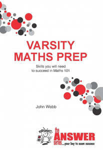 Picture of The Answer Series Varsity Maths Prep - John Webb