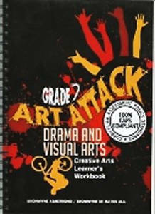 Picture of Art Attack Grade 7 Learner Workbook CAPS