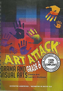 Picture of Art Attack Grade 8 Learner Workbook CAPS