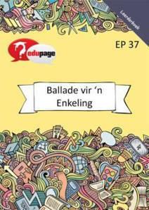 Picture of Ballade vir 'n Enkeling Filmstudie Leerderboek (Filmstudie)