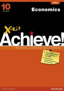 Picture of X-Kit Achieve! Economics Grade 10 Study Guide (CAPS)