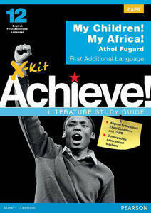Picture of X-Kit Achieve! My Child My Africa First Additional Language Study Guide (CAPS)