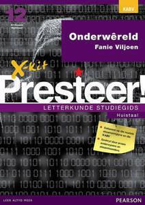 Picture of X-Kit Presteer! Letterkunde Studiegids: Onderwereld, Huistaal (KABV)