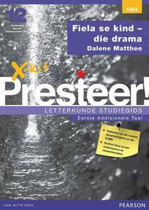 Picture of X-Kit Presteer! Letterkunde Studiegids: Fiela se Kind, Eerste Addisionele Taal (Kabv)