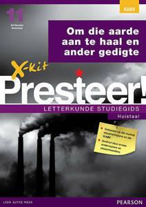 Picture of X-Kit Presteer! Letterkunde Studiegids: Om die Aarde, Huistaal (KABV)
