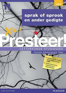 Picture of X-Kit Presteer! Letterkunde Studiegids: Sprak of Sprook, Eerste Addisionele Taal (KABV)