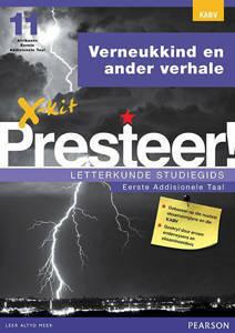 Picture of X-Kit Presteer! Letterkunde Studiegids:  Verneukkind, Eerste Addisionele Taal (KABV)
