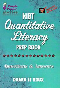 Picture of Purple Pepper: Maths NBT Quantitive Literacy Prep Book  - Duard Le Roux