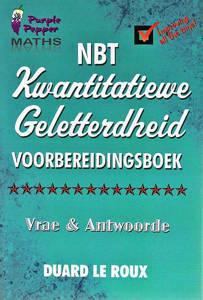 Picture of Purple Pepper: Wiskunde  NBT Kwantitatiewe Geletterdheid Voorbereidingsboek  - Duard Le Roux