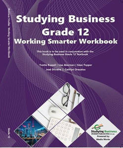 Picture of NSC Studying Business Grade 12 Working Smarter (Workbook)