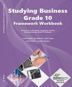 Picture of NSC Studying Business Grade 10 Framework (Workbook)