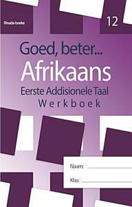 Picture of Goed, Beter Afrikaans Werkboek Graad 12 (CAPS)