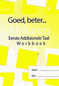 Picture of Goed, Beter Afrikaans Werkboek Graad 8 (CAPS)
