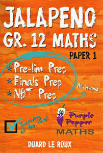 Picture of Purple Pepper: Jalapeno Maths Paper 1