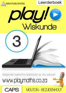 Picture of Play! Wiskunde Graad 3 Leerderboek - Mouton & Bezuidenhout