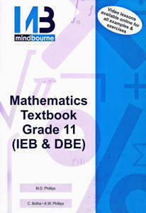 Picture of Mindbourne Mathematics Grade 11 Textbook + Video Licence