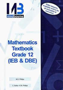 Picture of Mindbourne Mathematics Grade 12 Textbook