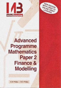 Picture of Mindbourne Advanced Programme Mathematics Paper 2 Finance & Modelling Textbook