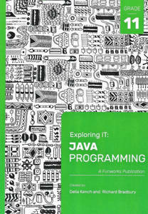 Picture of Exploring IT: Java Programming Grade 11 Third Edition (NEW) LATEST