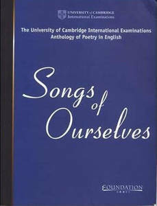 Picture of Songs of Ourselves - Cambridge -Cambridge Assessment International Education Anthology of Poetry in English