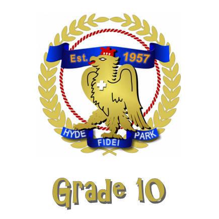 Hyde Park High Grade 10