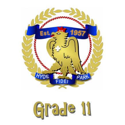Hyde Park High Grade 11