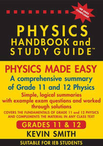 Picture of The Physics Handbook and Study Guide Grades 11 & 12 (IEB only)