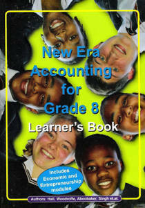 Picture of New Era Accounting Grade 8 Learner's Book (CAPS)