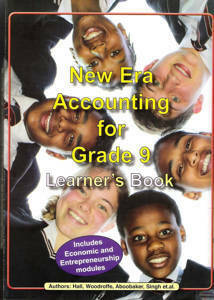 Picture of New Era Accounting Grade 9 Learner's Book (CAPS)