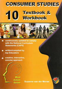 Picture of Mind Action Series Consumer Studies Grade 10 Textbook/Workbook (NCAPS)