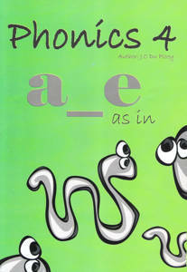 Picture of Phonics Workbook 4 - J.C. Du Plooy