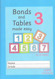 Picture of Bonds and Tables Made easy Workbook 3