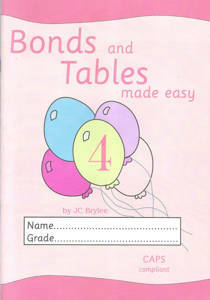 Picture of Bonds and Tables Made Easy Workbook 4 (A4)