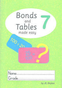 Picture of Bonds and Tables Made Easy Workbook 7