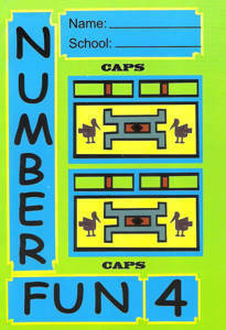Picture of Number Fun Book 4 (CAPS)