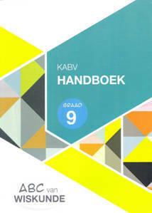 Picture of ABC van Wiskunde Graad 9 HandBoek A4