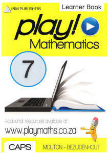 Picture of Play! Mathematics Grade 7 Learner Book - Mouton & Bezuidenhout