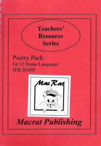 Picture of Macrat Poetry IEB Home Language 2020