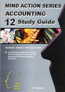 Picture of Mind Action Series Accounting Grade 12 Study Guide Part 1 (NCAPS)