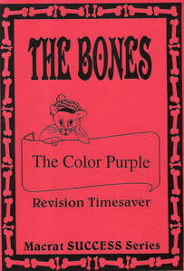 Picture of Macrat Bones Color Purple Literature Study Guide