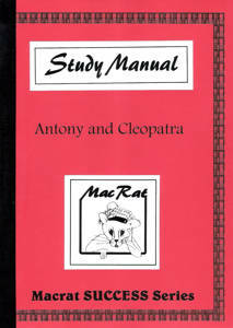 Picture of Macrat Antony & Cleopatra Literature Study Guide