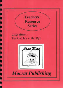 Picture of Macrat Catcher in the Rye Literature Study Guide