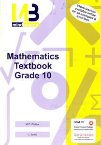 Picture of Mindbourne Maths G10 Textbook + Video