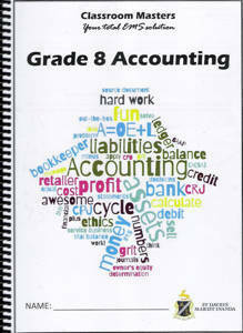 Picture of Classroom Masters Accounting Grade 8 CAPS for St Davids only