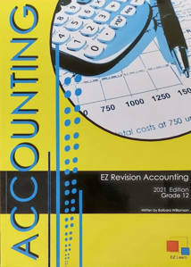 Picture of EZ Revision Accounting Grade 12 2021 Edition LATEST