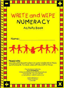 Picture of Write & Wipe Numeracy Activity Book
