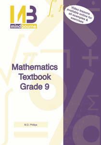 Picture of Mindbourne Mathematics Grade 9 Textbook